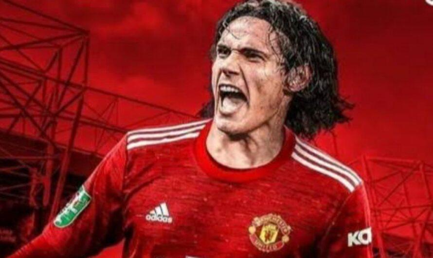 Manchester United Tolong Berikan Waktu Bermain Buat Edinson Cavani